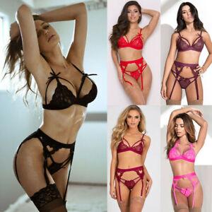 Women Lace Dress Sexy-Lingerie Nightwear Underwear G-string Babydoll Sleepwear