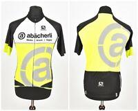 Mens Giordana Cycling Jersey Premium Italian Shirt Full Zip Short Sleeve Size M
