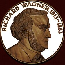 Europian Medal Richard Wagner 1813-1883 Silver 925/1000