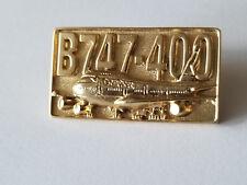 RARE CATHAY PACIFIC AIRWAYS B747- 400 AIRCRAFT PIN.