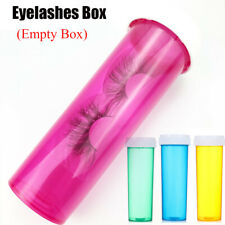 Fashion Pill Shape Box Mink Lash Tray False Eyelashes Box Eyelash Package