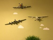 Boeing B17 Bomber Army Military Pilot WWII War Airplane 3D Wall Decor Aviation