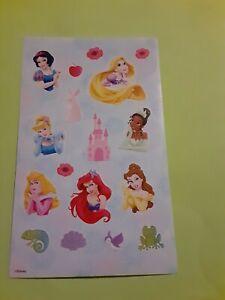 Disney princesses sticker sheet (free ship $20 min)