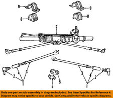 CHRYSLER OEM Steering Gear-Outer Tie Rod End 5093435AA