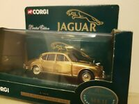 CORGI - LIMITED EDITION GOLD PLATED JAGUAR MK11 - 01805 - BOXED