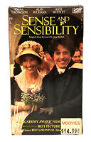 Sense and Sensibility (VHS 1996) Emma Thompson, Kate Winslet New Factory Sealed