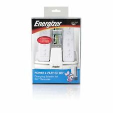 Energizer Power And Play Charging Station For Wii FKC235 Very Good 8E