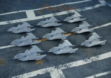 FX 35 Concept Supersonic Bomber Attack Fighter Plane Model Figure A633 A 9pcs
