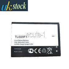 Replace ALCATEL TLi020F1 Battery 2000mAh ONE TOUCH OT-7040, 7040D, 7041,