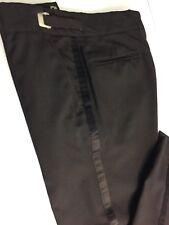 29 R Mens Tuxedo Pants Black