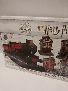3D Puzzle Harry Potter Hogwarts Express Diagon Alley Paper Foam Sheet 453 Pieces