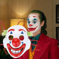 Cosplay DC Movie Joker Arthur Fleck Mask Clown Masquerade Halloween Mask US