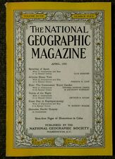 National Geographic magazine April 1950 Okinawa Pacific Outpost, Spain