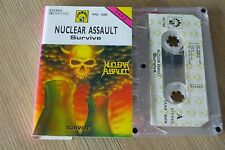 Cassette K7 Tape Nuclear Assault   Survive MG Records MG 1660