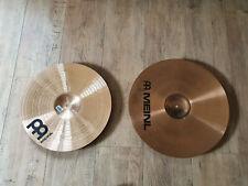 lot cymbales meinl medium crash 16 et 18