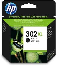 Cartuccia inchiostro nero ORIGINALE HP 302 XL (F6U68AE) per DeskJet 2130 All-in-
