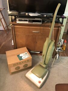 Vintage Hoover Convertible Upright Vacuum Model 66 With Box And Manual