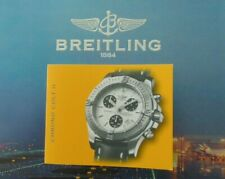 BREITLING CHRONO COLT II WATCH INSTRUCTION MAINTENANCE MANUAL BOOK GUIDE BOOKLET
