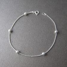 Bracelet satellite chaîne boules en argent 925 BR179