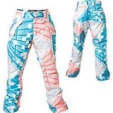 b96f5a217b0 White Sports Snow Pants   Bibs