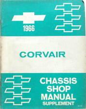 1966 CHEVROLET CORVAIR CHASSIS SHOP  MANUAL SUPPLEMENT ORIGINAL EN ANGLAIS