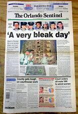 <1996 newspaper Terrorist bombing KHOBAR TOWERS Saudi Arabia kills 20 US troops