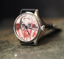 Polka trash watch  converted Molnija pocket watch 1960's,custom watch