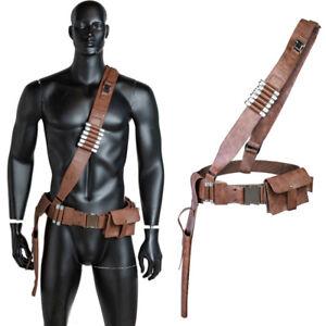 Xcoser The Manda Cosplay Belt Set Resin Bullets+Metal Buckle Accessories Props