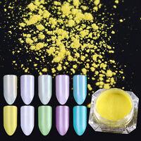 2g BORN PRETTY Mirror Pearl Nail Glitzer Pulver Nail Art  Powder Glitter