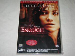 Enough - Jennifer Lopez - Brand New & Sealed - Region 4 - DVD