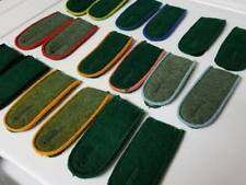 18 pcs WWII WW2 German uniform insignia shoulder boards straps patches mixed lot