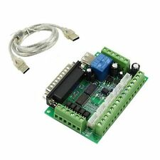 5 axis CNC Breakout Board with optical coupler For Stepper Motor Driver MACH3 UK