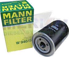 DEUTZ 117 4418 OIL FILTER MANN AND HUMMEL W940/5