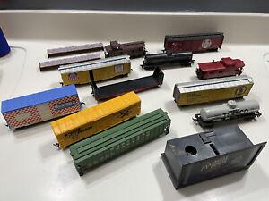 Model Train Car Lot