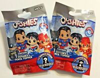 Lot of 2 OOSHIES DC Comics Series 1 Pencil Topper Mystery Pack 40 to Collect New