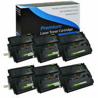 6PK High Yield Toner Cartridge Q5942X 42X For Hp LaserJet 4250 4350 4250n 4250tn