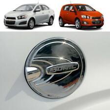 Chrome Fuel Oil Tank Gas Cap Cover Trim Fit 12+ Chevrolet Sonic 4 5 Doors