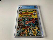 MARVEL TEAM UP 13 CGC 8.5 WHITE PS SPIDER-MAN CAPTAIN AMERICA MARVEL COMICS 1973
