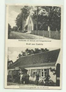 AK Czettritz Ciecierzyce Kr Landsberg Warthe Handlung Schmidt Stpl Dechsel 1929