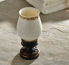 Oil Rubbed Brass Free Standing Bathroom Accessories Toothbrush Holder sba474