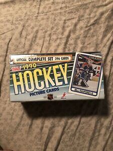 1990 Topps NHL Hockey Complete Factory Sealed Set 396 Cards