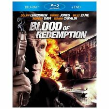 BLOOD OF REDEMPTION BLU-RAY MOVIE DVD SUPER ACTION DOLPH LUNDGREN VINNIE JONES