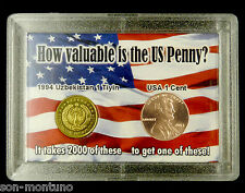"World's Most Worthless Coin & 2013 Lincoln Cent  ""How Valuable is the US Penny?"""