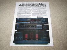 Yamaha M-85, C-85, T-85 Amp, Pre, Tuner Ad, 1986, 1 pg