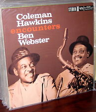 CLASSIC RECORDS LP MG VS-6066: COLEMAN HAWKINS Encounters BEN WEBSTER - 180gm SS