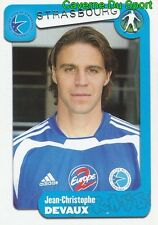 368 J.C DEVAUX FRANCE RC.STRASBOURG SERVETTE GENEVE STICKER FOOT 2005 PANINI