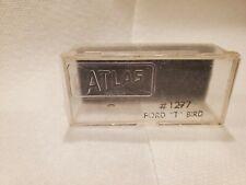 Atlas ho scale slot cars pre 1970 T bird original case