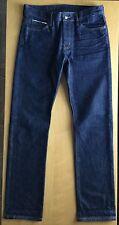KORAL Slim Selvage Red Line Denim Jeans 32 x 33 USA Made. Jcrew apc Selvedge