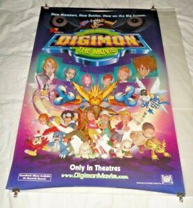 Digimon The Movie Original US One Sheet Movie Cinema Poster 2000