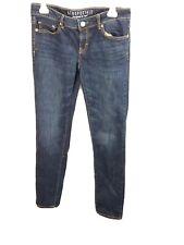 Aeropostale Long Skinny Designed in NYC  Ladies Size 6 Blue Jeans RN# 121726
